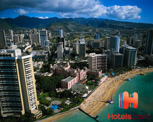 Honolulu Surpasses New York City as Most Expensive U.S. Market According to Hotels.com Hotel Price Index.  (PRNewsFoto/Hotels.com)