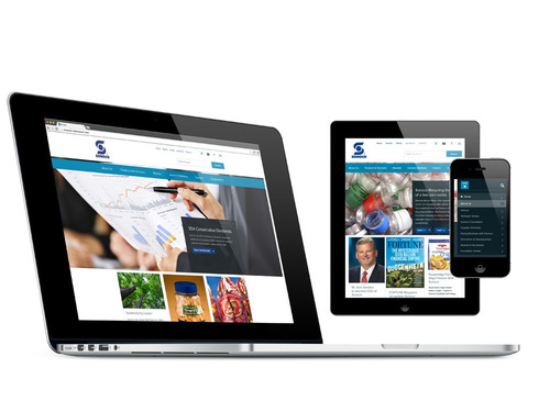 Sonoco's new mobile-friendly website provides access for visitors on a variety of devices.  ...