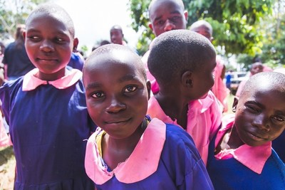 GivePower Foundation installs a solar energy system at Kiliboti Primary School in Chevaywa, Kenya.