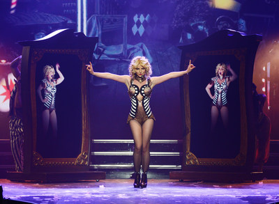 Britney Spears during her Britney: Piece of Me show