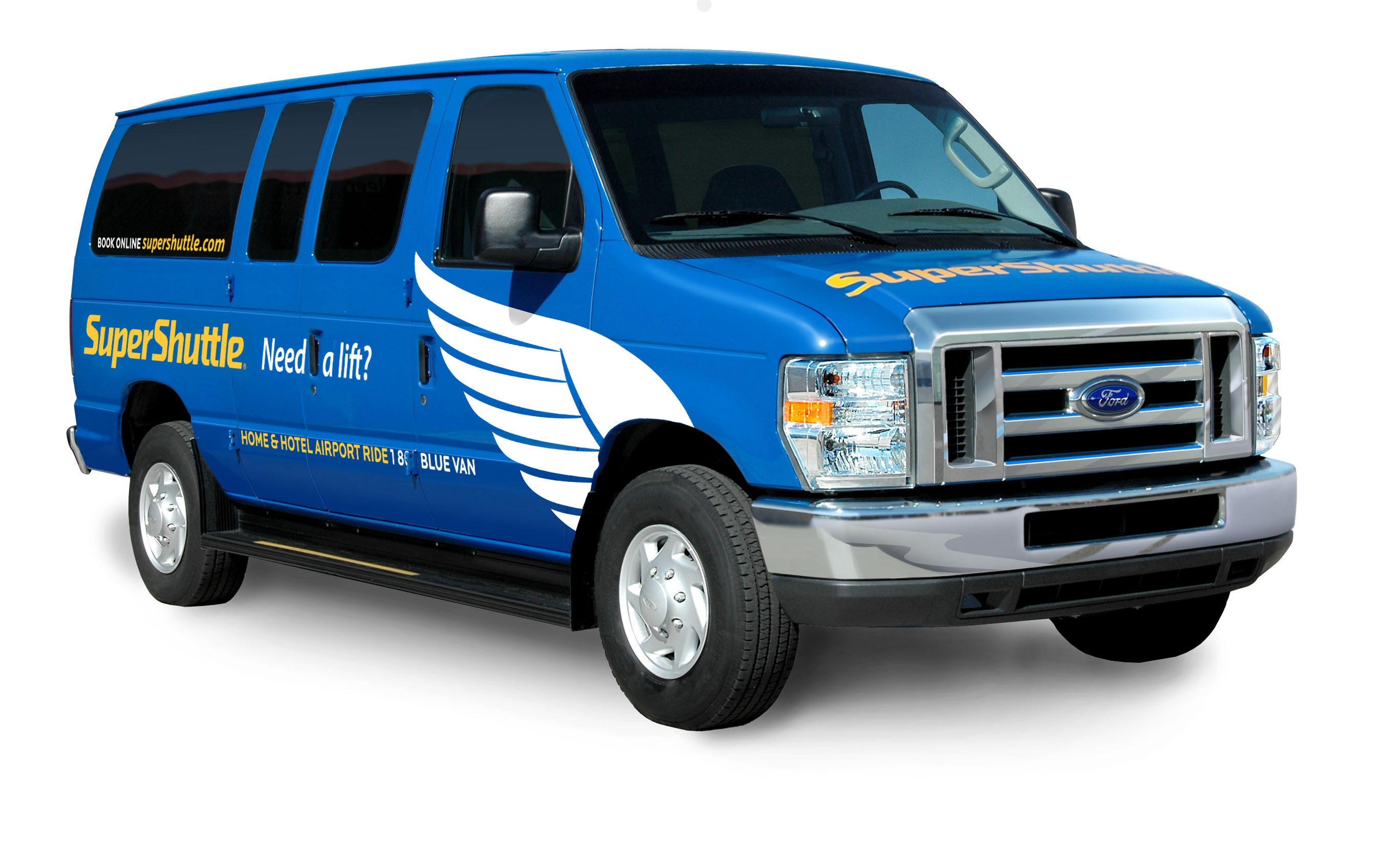 SuperShuttle, the most environmentally friendly way to get to the airport.