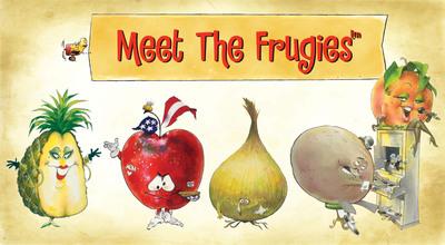 Meet the Frugies e-book. (PRNewsFoto/LearnAlong)