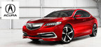 The 2015 Acura TLX offers a variety of safety features to keep drivers off their cell phones. (PRNewsFoto/DealerFire)