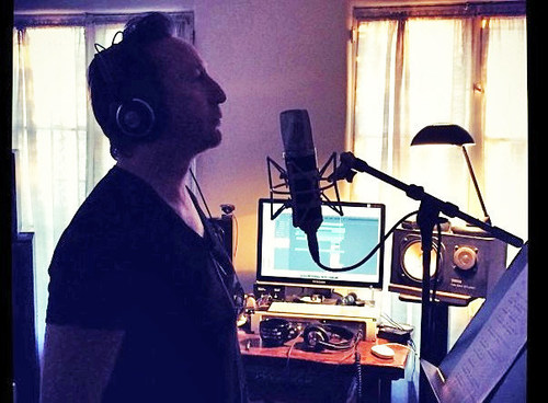 "Julian Lennon Recording ""Summertime"" (PRNewsFoto/Music Is Hope Foundation)"
