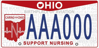 Proceeds from the license plate will help fund nursing scholarships and research grants from the Ohio Nurses Foundation - the charitable arm of the Ohio Nurses Association whose mission is to advance nursing through education, research and scholarships.