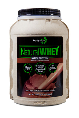First-of-its-kind, Eco-Friendly, Gluten-Free Natural Whey Protein Supplement in Compostable Canister