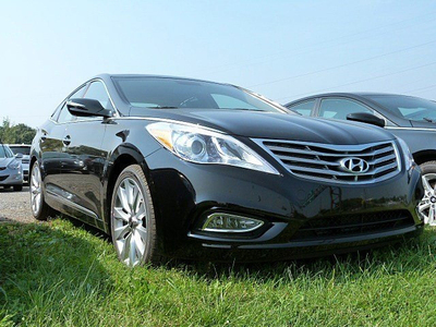 This 2013 Azera is one of the models subject to the referral incentive program.  (PRNewsFoto/Phillipsburg-Easton Hyundai)