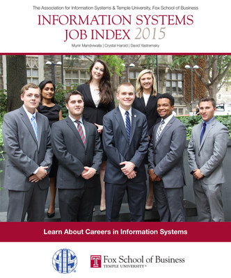The cover of the latest edition of the Information Systems Job Index, published by Temple University's Fox School of Business and the Association for Information Systems.