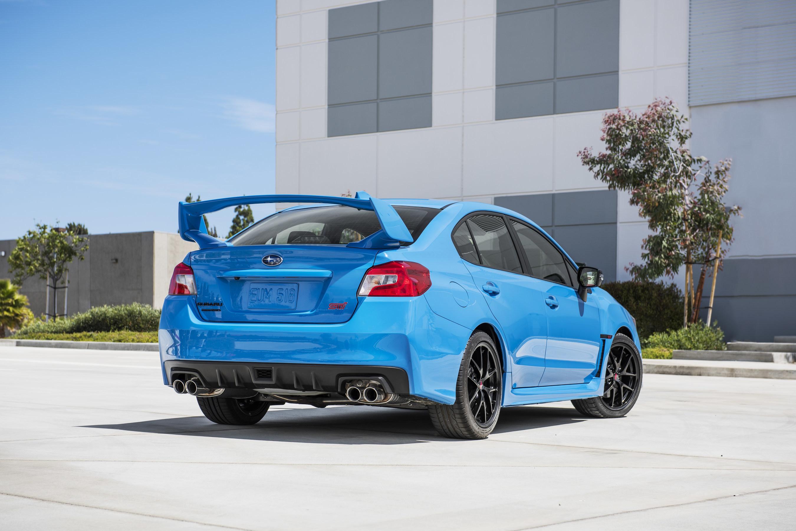 2016 Subaru Series.HyperBlue WRX STI