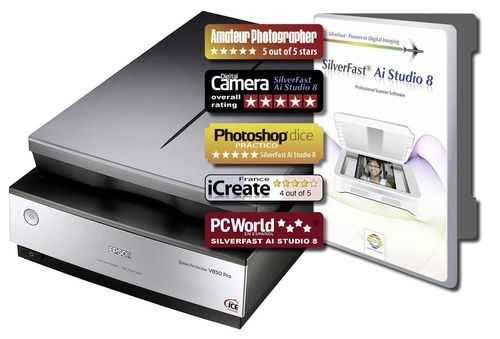 Epson Perfection V850 Pro and Upgrade to SilverFast Ai Studio. Epson V800, Scanner, Scanning, Archive Suite, ...