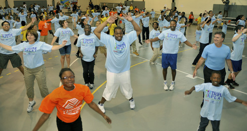 Kids at Brookhaven Boys & Girls Club Take on the Guinness World Record for Jumping Jacks