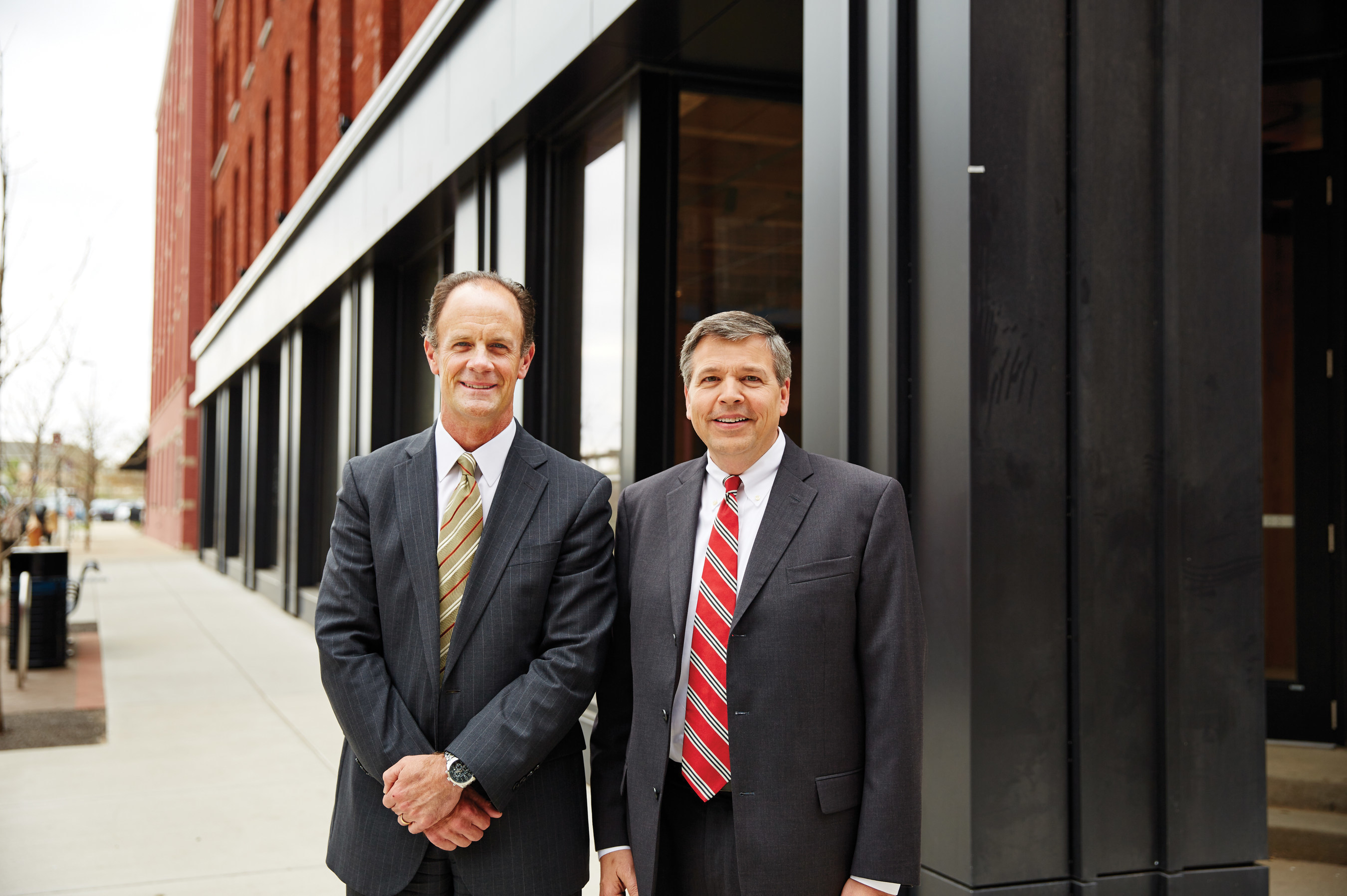 Greenleaf Trust welcomes John Grzybek and Thomas DeMeester to our new Grand Rapids office.