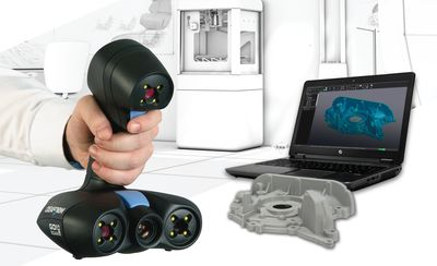 Creaform's new Go!SCAN 3D white-light handheld 3D scanners and VXmodel software provide the ideal, fully integrated, professional-grade solution to capture real-world objects and send them to any 3D printer or CAD software.