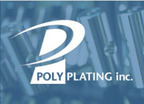 Poly-Plating, Inc., a nickel and metal plating facility located in Chicopee, MA, is touting its black nickel P.T.F.E. polymer plating services for custom projects designated as Poly-Ond-B.  (PRNewsFoto/Poly-Plating, Inc.)