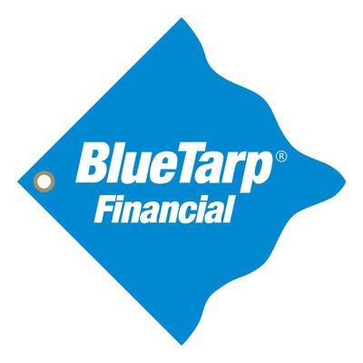 BlueTarp Financial Logo.  (PRNewsFoto/BlueTarp Financial)