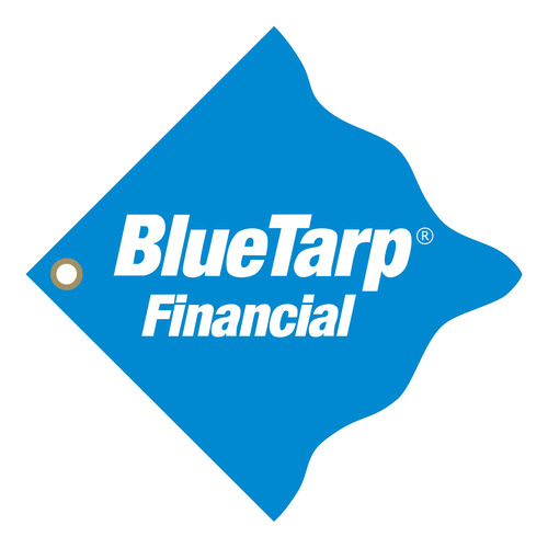 BlueTarp Financial Logo.  (PRNewsFoto/BlueTarp Financial)