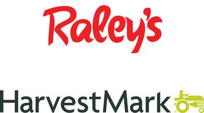 Raley's and HarvestMark Logos.  (PRNewsFoto/YottaMark)