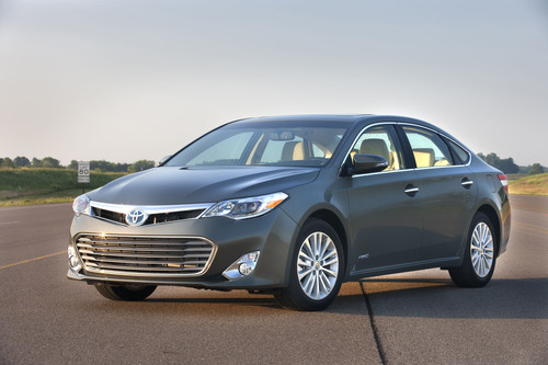 Toyota Features Hybrid Family of Vehicles at Fort Lauderdale International Auto Show (Pictured: 2014 Avalon ...