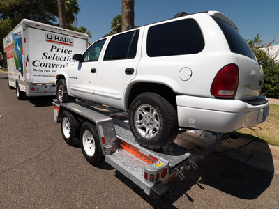 U-Haul auto transport: The best way to get your vehicle to and from Barrett-Jackson in Scottsdale, Arizona.  (PRNewsFoto/U-Haul)