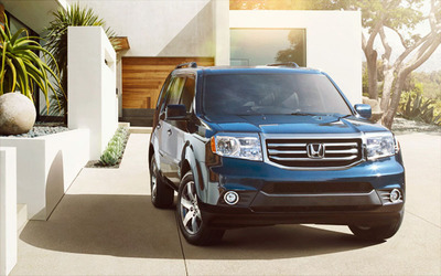 The 2014 Honda Pilot is one of the vehicles featured at discount at Rhinelander Honda.  (PRNewsFoto/Rhinelander Honda)