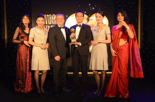 Hainan Airlines Honored as Asia's Leading Airline Business Class by WTA 2014 (PRNewsFoto/Hainan Airlines ...