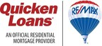 Quicken Loans, RE/MAX logo (PRNewsFoto/RE/MAX, LLC)