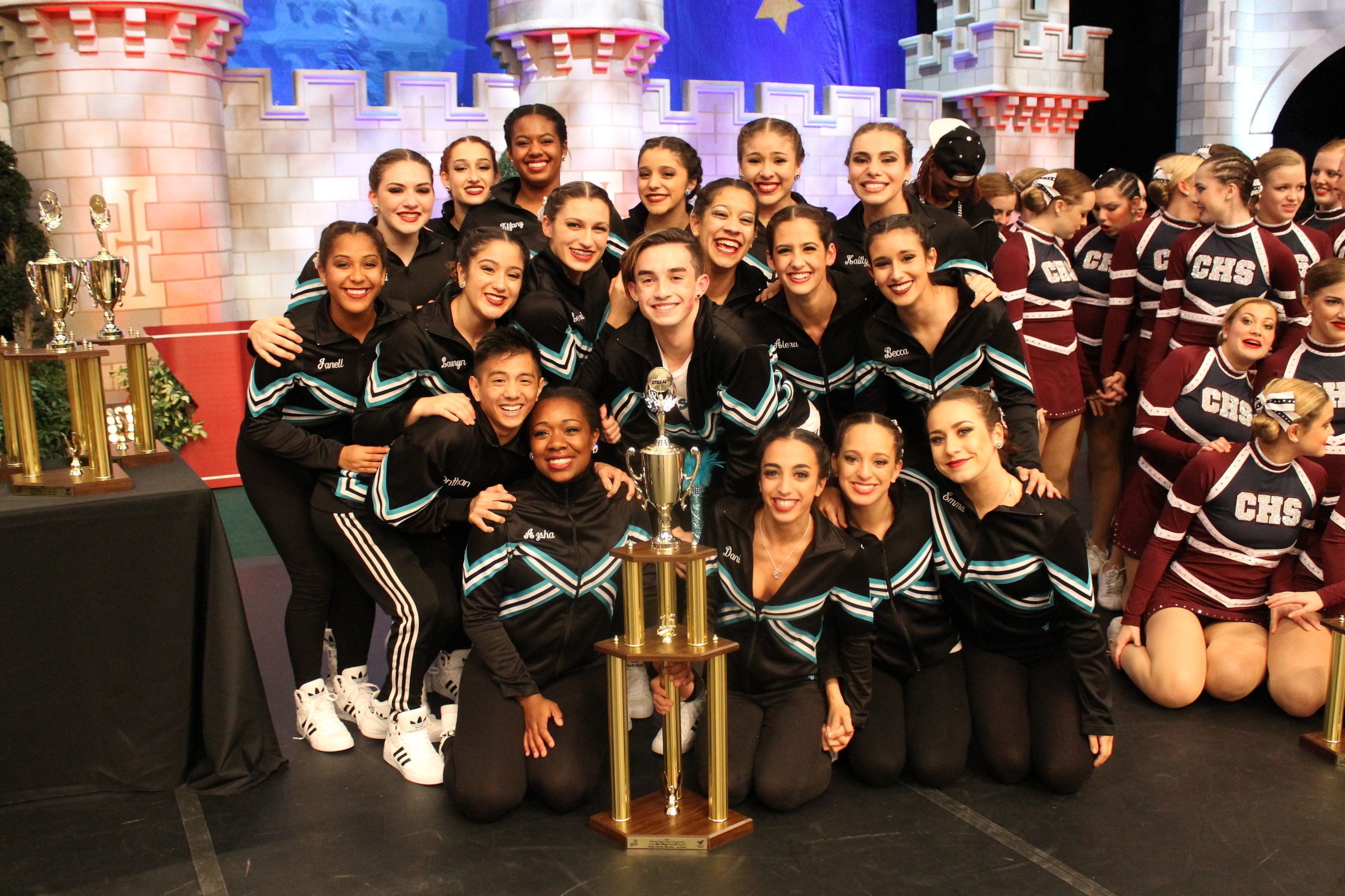 Coral Reef High Wins Hip Hop and Jazz Titles at 2016 National High School Cheerleading and Dance Team Championships