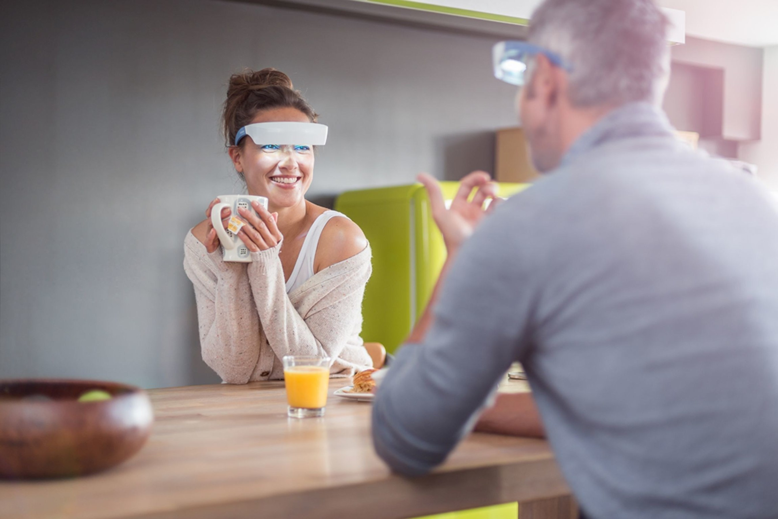 Introducing Luminette(TM): The World's First Light Therapy Glasses (PRNewsFoto/Lucimed) (PRNewsFoto/Lucimed)