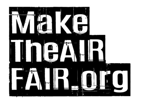 Make The Air Fair Logo (PRNewsFoto/Three UK)
