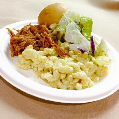 The meal prepared by Sodexo's team at Gonzaga University as part of the company's annual Stop Hunger Servathon efforts.