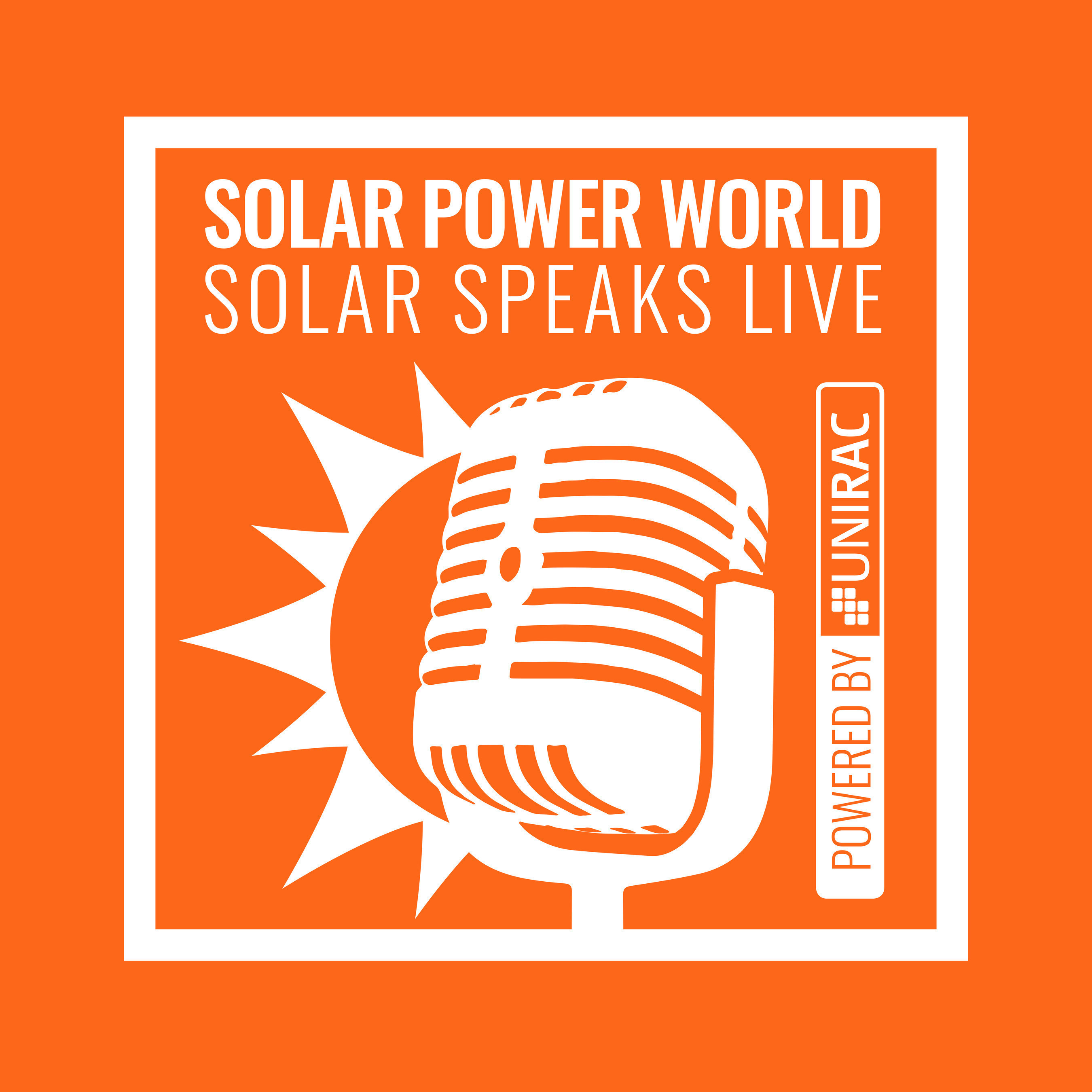 Solar Speaks Podcast by Solar Power World to broadcast live at Intersolar North America