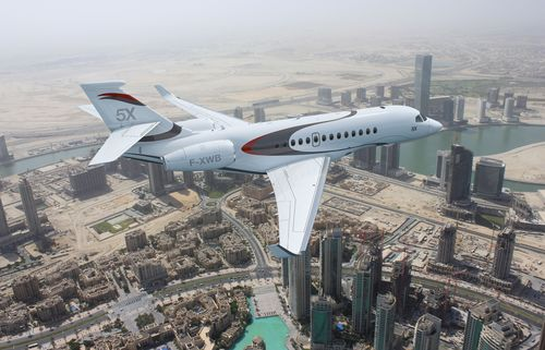 Falcon 5X to Highlight Dassaultâeuro(TM)s MEBA Exhibit (PRNewsFoto/Dassault Aviation)