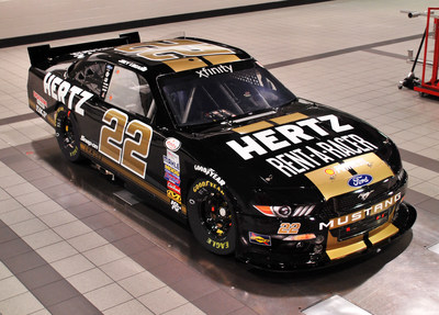 """Team Penske and Hertz announce a special paint scheme for Darlington race, an ode to the famed """"Rent-A-Racer"""" program from the 1960s."""