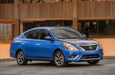 Nissan Announces New 2015 Versa Sedan, Set For Debut At New York International Auto Show On April 16th.  (PRNewsFoto/Nissan North America)