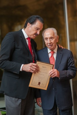 Remembering Shimon Peres, International Chairman, Friends of Zion (FOZ) Museum, Upon His Passing