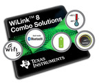 TI brings 2.4 and 5 GHz Wi-Fi(r) and Bluetooth(r) combo modules to industrial and IoT applications