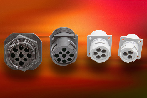 Circular Thermoplastic Connectors from Amphenol Use AT Contact Technology. (PRNewsFoto/Amphenol Industrial ...