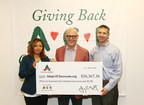 ACE Cash Express presents donation to AdoptAClassroom.org. (PRNewsFoto/ACE Cash Express, Inc.)