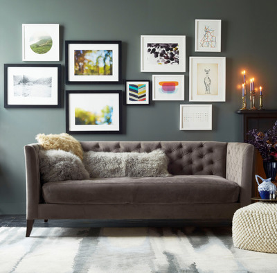 """West Elm and Minted share a passion for discovering and supporting exciting independent artist,"" said Minted CEO and founder Mariam Naficy.  ""I am thrilled to introduce Minted's talented community artists to more consumers through the West Elm brand.""  (PRNewsFoto/Minted)"