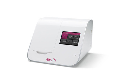 The Alere i Influenza A & B test, the first and only molecular test to diagnose influenza infection in less than 15 minutes, is now available in Europe. (PRNewsFoto/Alere Inc.) (PRNewsFoto/ALERE INC.)