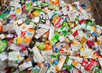 The UK's only beverage carton recycling plant opens for business
