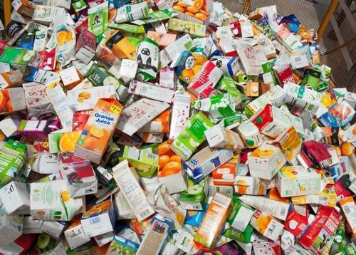 The UK's only beverage carton recycling plant opens for business (PRNewsFoto/Alliance for Beverage Cartons)