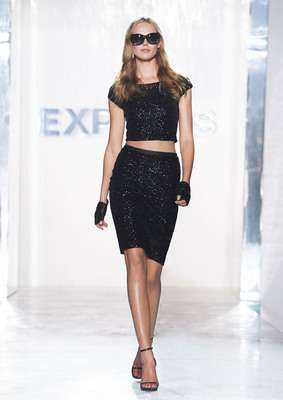 EXPRESS Rocked The New York City Sidewalk With A Public Fashion Show