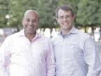 Niraj Shah and Steve Conine, co-founders of Wayfair.  (PRNewsFoto/Wayfair.com)