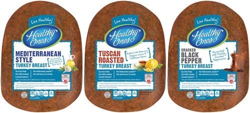 Consumers can enjoy three new, fresh flavors of Healthy Ones Deli turkey breast in 2014: Mediterranean Style, Tuscan Roasted, and Cracked Black Pepper. (PRNewsFoto/John Morrell Food Group) (PRNewsFoto/JOHN MORRELL FOOD GROUP)
