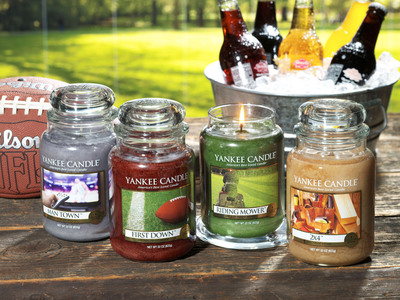 Yankee Candle NEW Man Candles.  (PRNewsFoto/The Yankee Candle Company, Inc.)