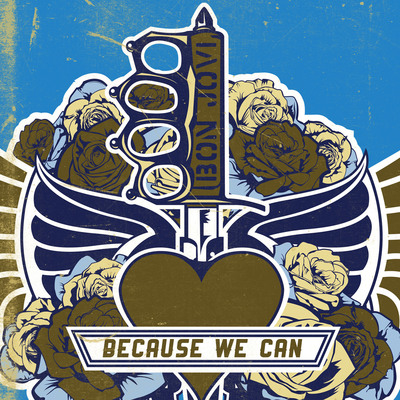"BON JOVI's ""BECAUSE WE CAN"" NETS #1 GLOBAL iTUNES SUCCESS IN 12 COUNTRIES, IN ADVANCE OF NEW ALBUM, WHAT ABOUT NOW, TO BE RELEASED MARCH 26th ON ISLAND RECORDS!.  (PRNewsFoto/Island Records)"