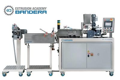 Laboratory Twin-Screw Extruder for graphene loading (PRNewsFoto/Luigi Bandera Spa)