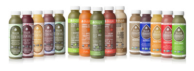 Suja Juice Co., the leader in organic, cold-pressured juice, named second among Forbes Magazine's list of America's Most Promising Companies of 2015