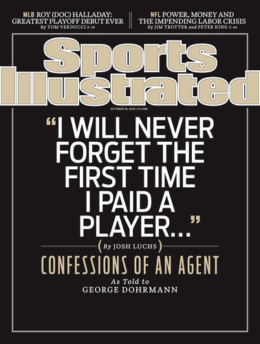 Agent Josh Luchs Comes Clean About Two Decades Inside the Dirtiest Business in Sports